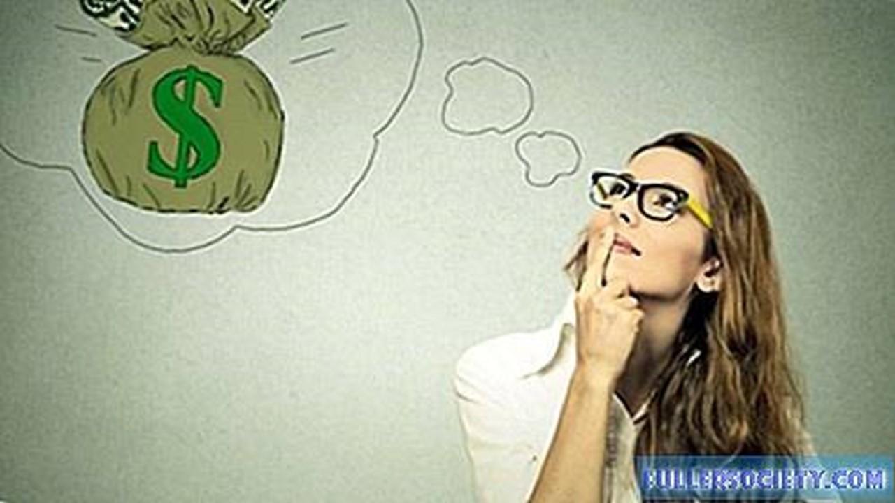 חושבת על כסף